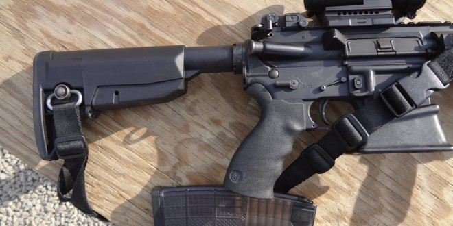 Bravo Company Manufacturing (BCM) BCMGUNFIGHTER Stock Field Review: Compact, Slim-Profile with 'Bombproof' Lock-Up for Tactical AR-15/M4/M4A1 Carbine/SBR's Intended for Combat and 3-Gun Competition (Video!)