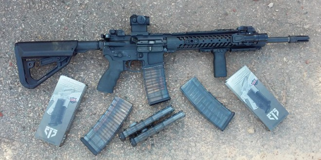 Elite Tactical Systems ETS AR Mag(s): Coupling-Capable All-Polymer Smoke-Translucent 5.56mm AR-15 Rifle Magazine(s)