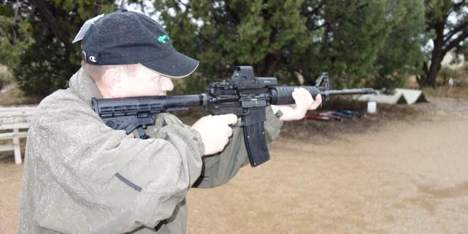 Bushmaster C-22 (Carbon 22) Tactical AR-15/M4/M4A1 Carbine-Profile .22LR Semi-Auto Rimfire Carbine with Black Dog Machine (BDM) 25-Round Mag (Magazine) for Low-Cost Plinking at the Range!