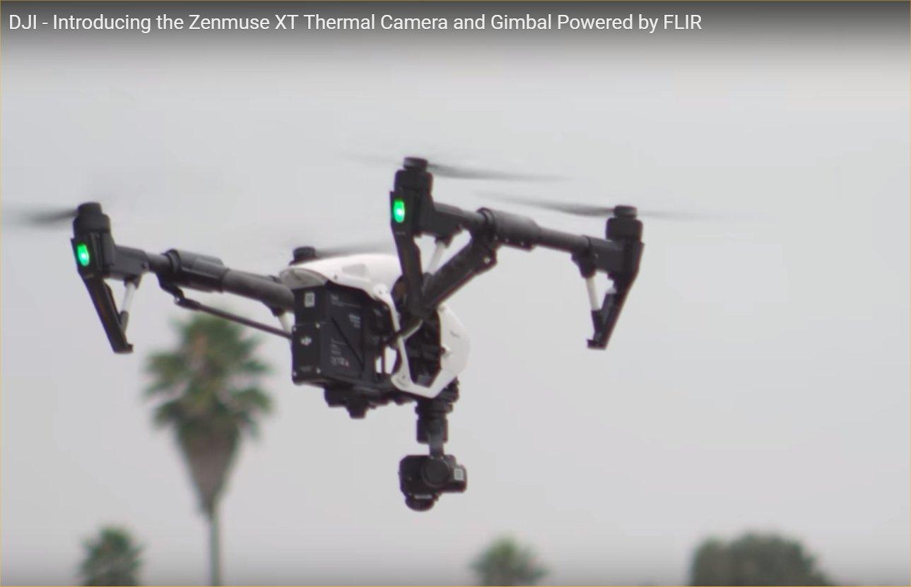 Flir Systems Dji Zenmuse Xt Stabilized And Gimbaled