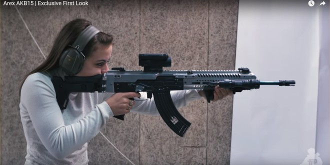 Arex AKB15 (or AKB-15) 7.62x39mm Tactical AK-Type Rifle/Carbine/SBR: Where the Modernized Kalashnikov AK-47/AKM Meets AR-15/ACR Modularity and Ergonomics!