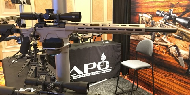 Ashbury Precision Ordnance APO SABER-FORSST MRCS-AR Savage 110 Bolt-Action Modular Rifle Chassis System with Tactical AR-15 Components/Parts and M-LOK Tactical Handguard/Rail System! (Video!)