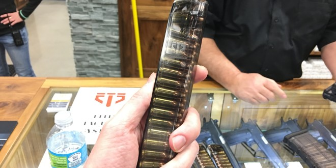 Elite Tactical Systems ETS Smoke-Translucent Polymer Glock Pistol Mags (Magazines): Best Glock Mags Ever?