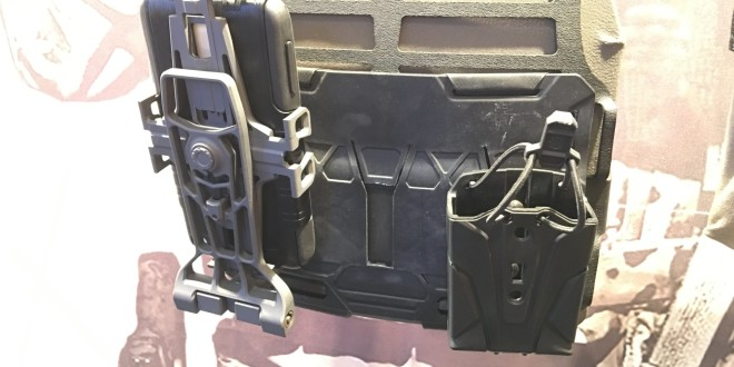 S&S Precision ELOS 5.56 (Elastic Load Out System 5.56mm) Minimalist, Stackable Polymer 5.56mm AR-15/M16/M4/M4A1 Mag (Magazine) Carrier/Pouch and NavBoard Rotary for Combat Smartphones (Apple iPhone and Android) (Video!)
