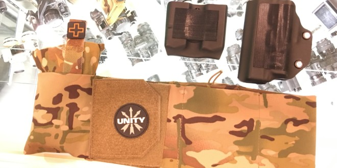 TNVC/Unity Tactical CLUTCH Belt Covert Combat/Tactical/Battle Belt with 2-Way-Stretch Fabric, BlackPoint Tactical Kydex Concealment Holsters and Mag (Magazine) Carriers/Pouches, and Gen-2 PMAG Mag Base Plate! (Video!)