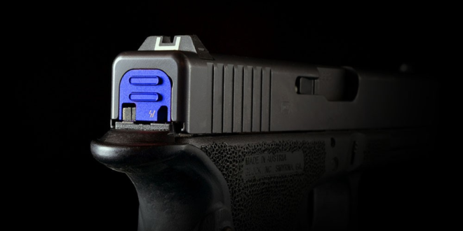 Strike Industries SI QD Slide Cover Plate (Back Plate) for Glock Pistols with Patent-Pending Push-Button Design for Quick Takedown and Even Easier Maintenance!