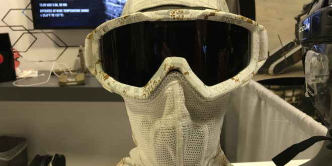 Revision SnowHawk Cold Weather Goggle System/Balaclava in Hyde Definition PenCott-Snowdrift Arctic Combat Camo (Camouflage) Pattern for Arctic Warfare Ops! (Photos!)