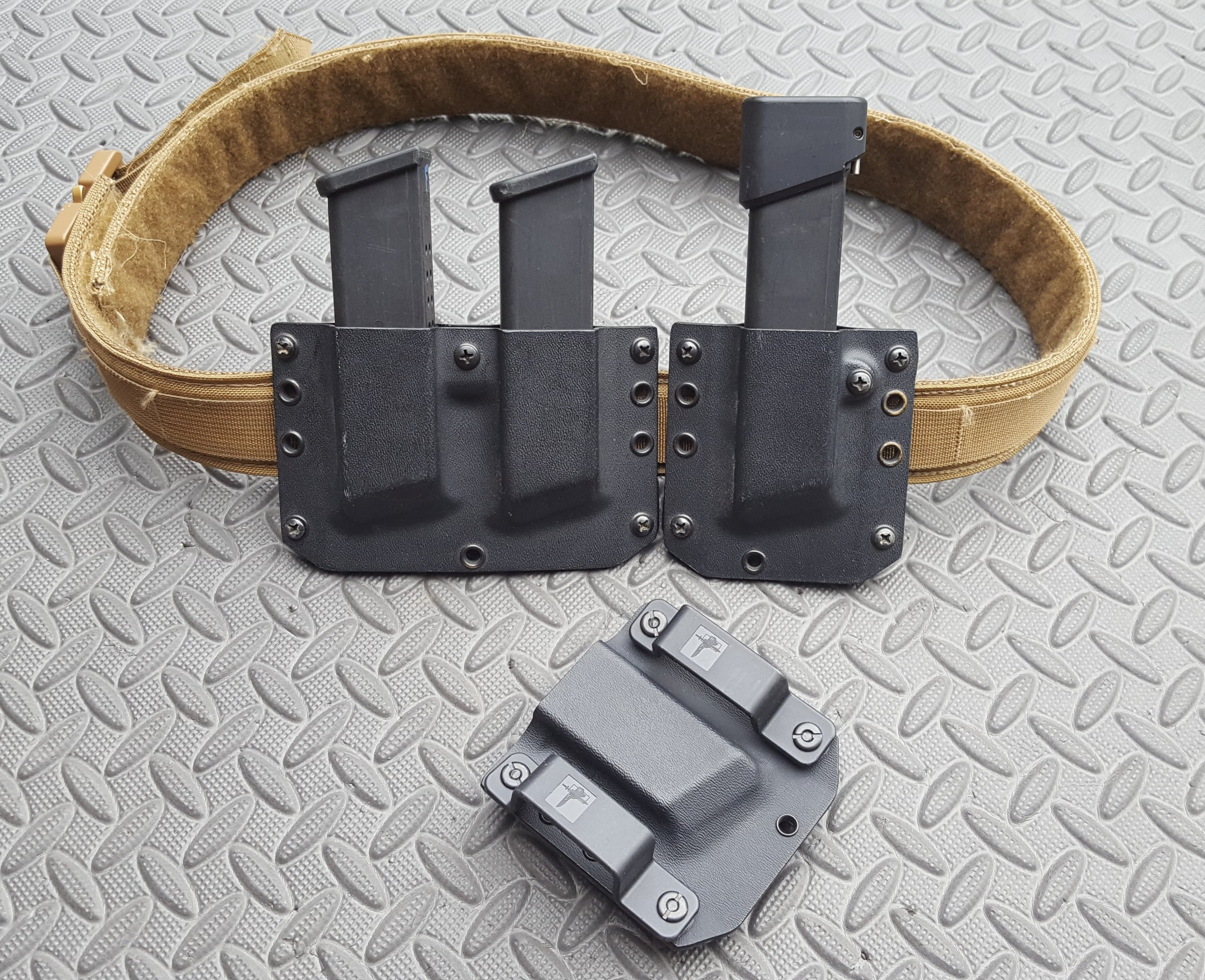 IWB Kydex Magazine Carrier Mag Pouch Holster CCW Custom Concealment EDC