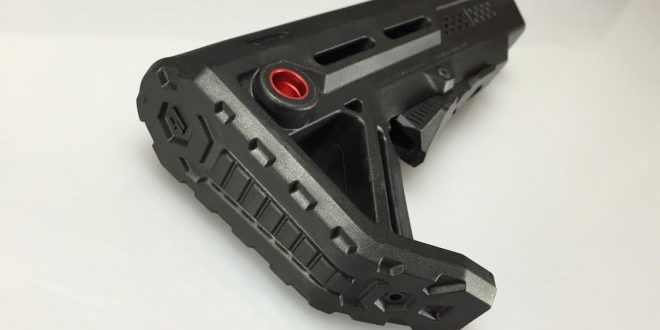 Strike Industries SI Viper Rubber Buttpad for SI Viper MOD-1 Stock Tactical AR-15 Carbine/SBR (Short Barreled Rifle) Telescoping/Retractable Buttstock: More Comfort and Control!