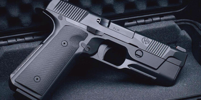 Hudson H9 Low-Bore-Axis Striker-Fired High-Capacity 9mm Combat/Tactical Pistol: Taking the 1911 Pistol Right into the 21st Century!