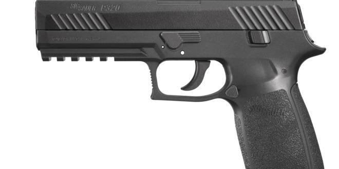 SIG SAUER P320 CO2-Powered Advanced Sport Pellet (ASP) .177-Caliber Air Pistol!