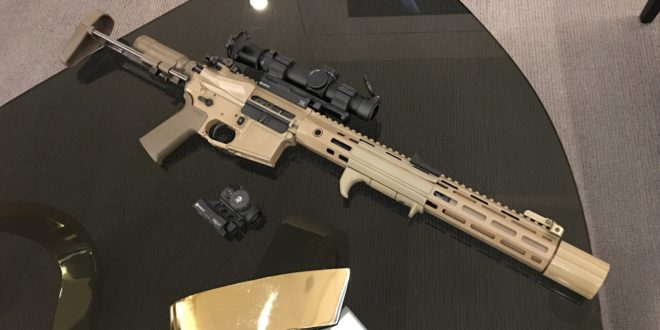 Nous Defions Arsenal Democracy NDAD Suppressor Upper Receiver Group (SURG) 8″ 5.56mm NATO/300 Blackout (300BLK) Select-Fire/Full-Auto Integrally/Recessed-Suppressed AR-15 Short Barreled Rifle/Personal Defense Weapon (SBR/PDW)! (Video!)