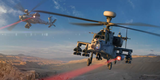 Boeing AH-64 Apache Attack Helicopter-Mounted Raytheon High Energy Laser (HEL) Weapon Successfully Tested at White Sands Missile Range!