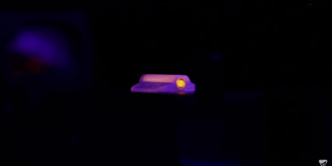 Strike Industries CAT (Center Axis Target) Sight Lo-Pro/Hi-Vis Illuminated Auxilliary Aiming Device for Low-Light/No-Light Gunfighting with Your Pistol at Night!