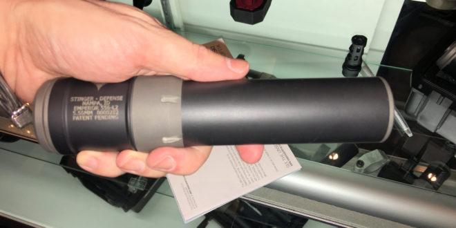 USNV/StingerWorx shows EMPEROR Series Lightweight, Weldless Modular Titanium Rifle Silencer/Sound Suppressor Kits with Quick-Attach/Quick-Detach (QA/QD) Over the Barrel Expansion Chamber (OBX)/Reflex Chamber, Replaceable Baffle Stack and Titanium Muzzle Brake! (VIDEO)