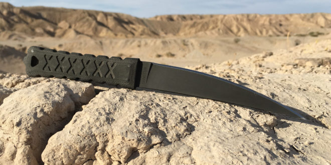 Williams Blade Design 'Special Mission Project' HZT 002 Hira Zukuri Tanto 6.5″ Fixed-Blade Combat Tanto Knife for Dynamic Close Quarters Battle/Close Quarters Combat (CQB/CQC) Edged Weapons Combatives and Military Special Ops!
